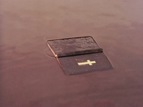 bible, water, and cross image                                                                                                                                                                                 More