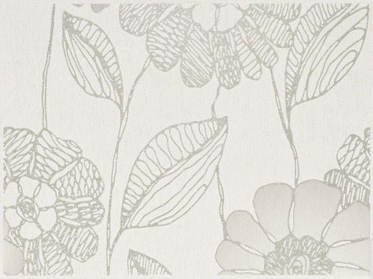 Libretto BIANCO - inserto Kwiat A 25 x 33,3 - Kwadro Ceramika