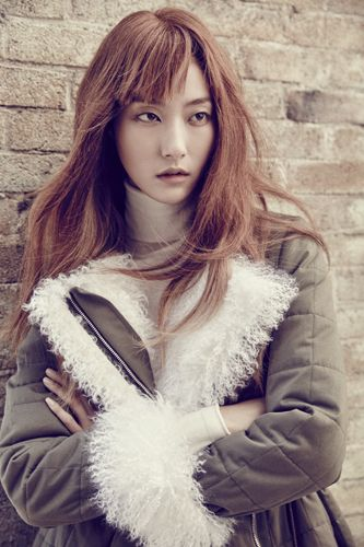 Park Ji Hye for Boon the Shop Fall 2015 issue