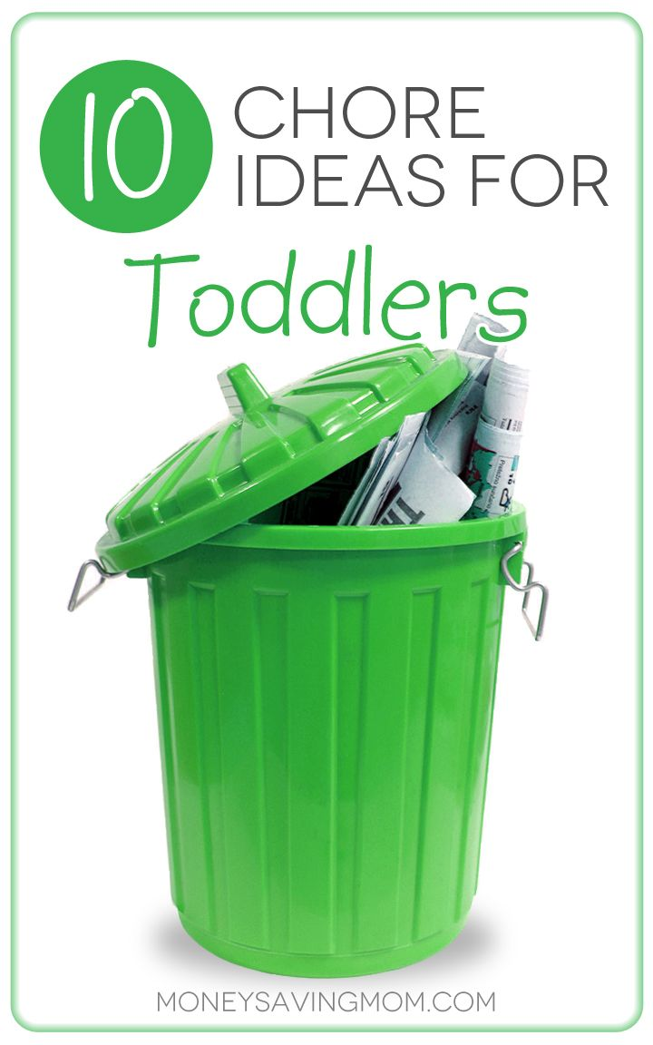 10 Chore Ideas for Toddlers -- Love these practical ideas for teaching your children to enjoy doing chores. Plus, some chore ideas you may not have thought of assigning to a young child. Great list!
