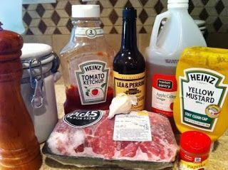 Recipe for Tender and Tangy pork ribs in the crockpot