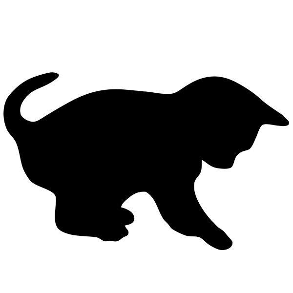Kreidetafel Cat