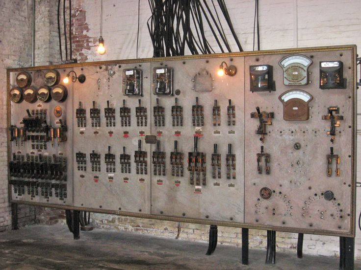 Biltmore House Sub Basement Main Switchboard In The