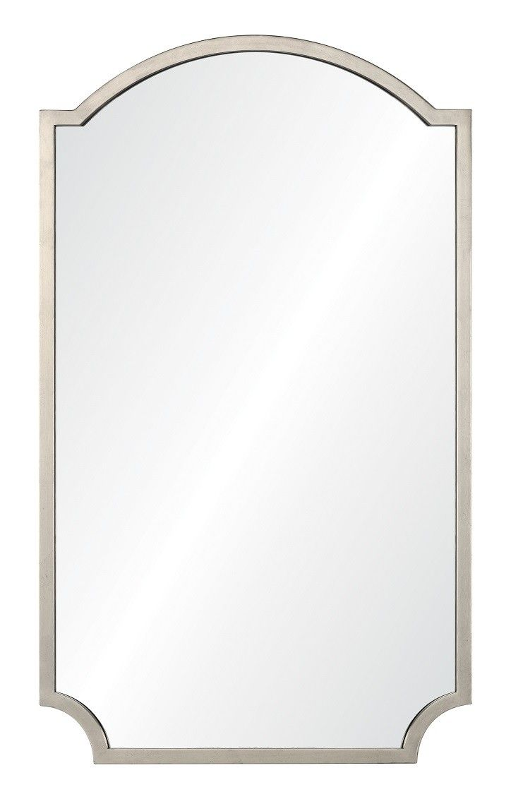 20670 Asl Mirror Silver Leaf Oversized Mirror