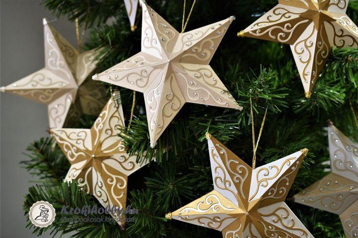 Karácsonyi csillag - Sizzix 662285