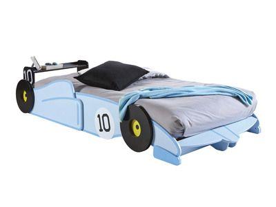 Original et pratique, ce lit voiture permet un couchage en 90*190 ou en 90*200.