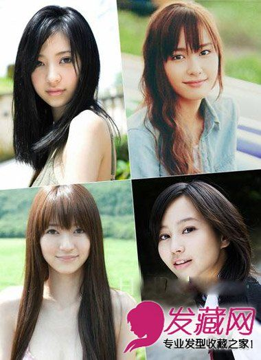 【图】剪短发换刘海 日系女星的发型,_刘海发型图片_发藏网