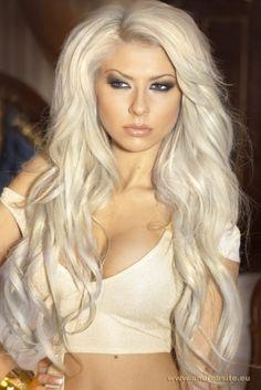 Outstanding Long Sexy Platinum Blonde Hair Google Search Blonde Short Hairstyles Gunalazisus