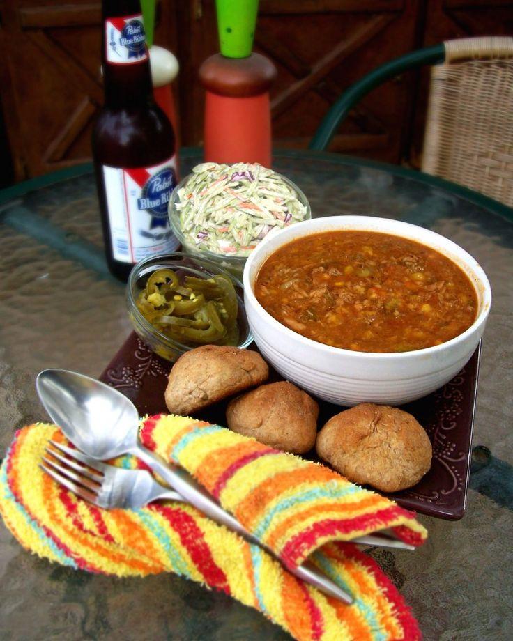 Crockpot Brunswick Stew recipe; I moved to the Carolinas and fell in love w/ Brunswick Stew!