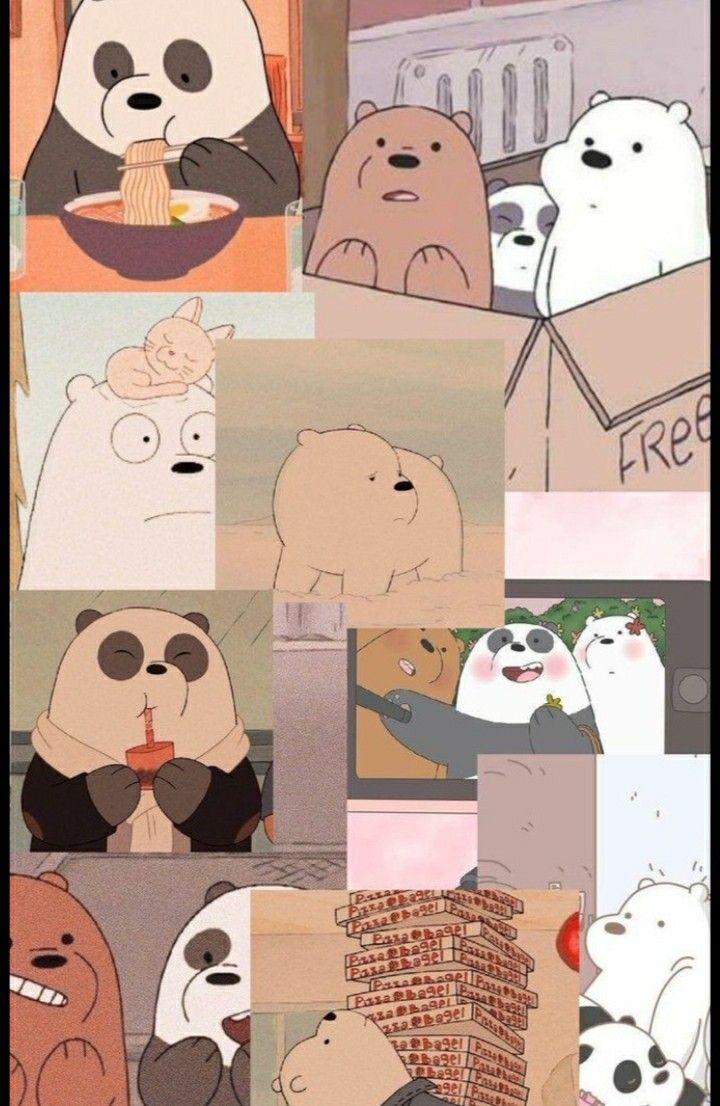 الدببه الثلاثه We Bare Bears Wallpapers Bear Wallpaper Cute Panda Wallpaper