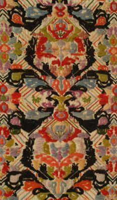 Sardinia, Italy, 19th c., Carpet, Rug, Sardegna Tappeto.