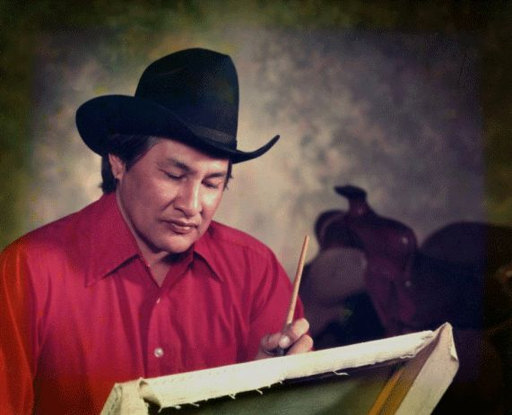 Will Sampson painting <3