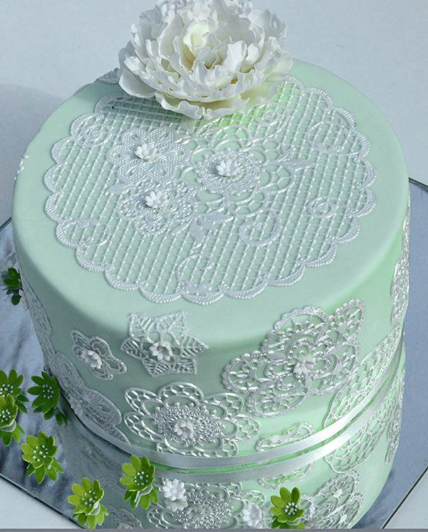 The Mini Mat Art Collection - Quality lace edging and finishes for all cake types.