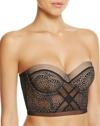 Calvin Klein Ck Black Endless Strapless Multi-Way Bra –