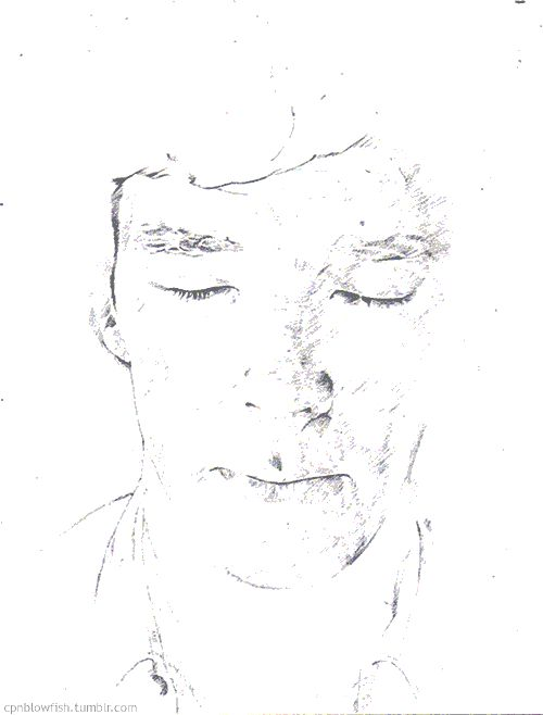 Click it!      cpnblowfish:    Sherlock - Mind Palace  Drawing animation and progress scanned 15 times.  A4 paper, mechanical pencil.  Thanks to -mostly10, I used his gif as model.