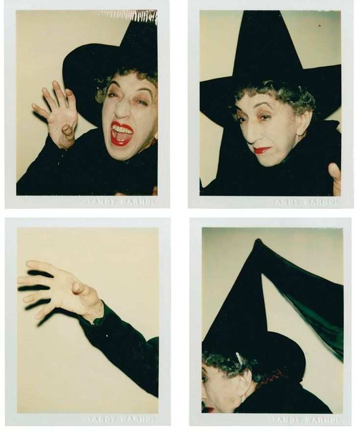 Margaret Hamilton photographed by Andy Warhol