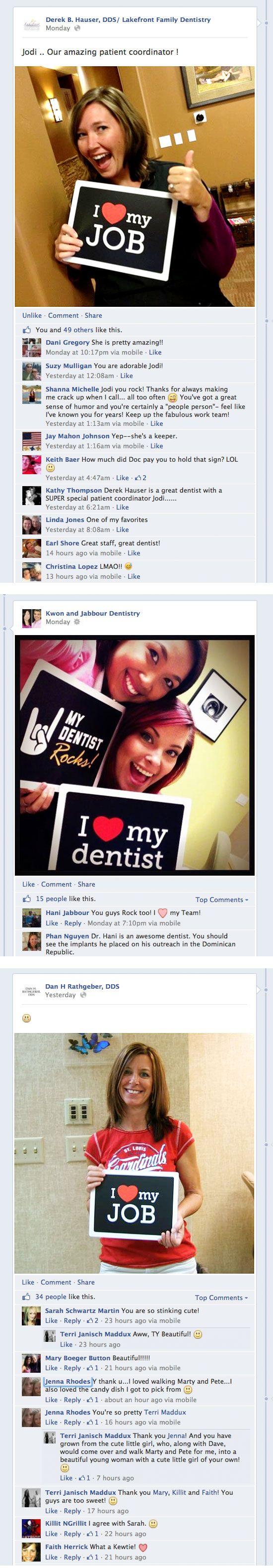 Social Signs Provide Fun Social Media For Dentists! (download printable PDF below) - My Social Practice - Social Media Marketing For Dentists, Orthodontists, & Optometrists