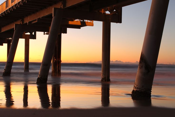 L1M1AS3 - Landscape challenge - The Sand Pumping Jetty at sunrise - assorted times - Taken on a tripod with a Canon 1100D, f/11, ISO100, 5sec at 36mm, no flash Any feed back is more than welcome please..