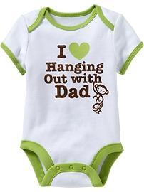 :): Dads Onesie, So Cute, Monkey Baby, Graphics Bodysuit, Baby Boys Girls, Kids, Onesies, Old Navy, Baby Stuff