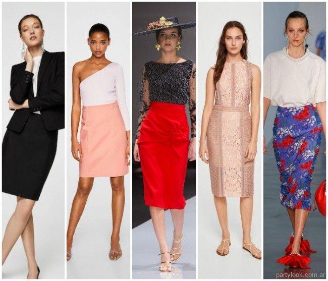 2027f2662 Tendencias: Faldas de moda primavera verano 2019 | Moda de fiestas ...