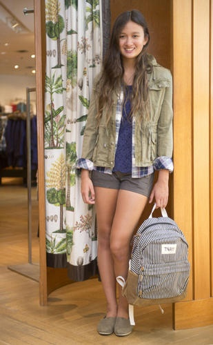 Teens and parents pick out back-to-school outfits #fashion: Outfits Fashion, Back To School Outfits, Teen, Parents Pick