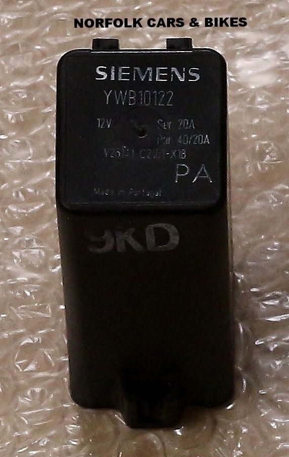 GENUINE ROVER 400 45 MG ZS YWB10122 RELAY AIR CON HEATER RELAY