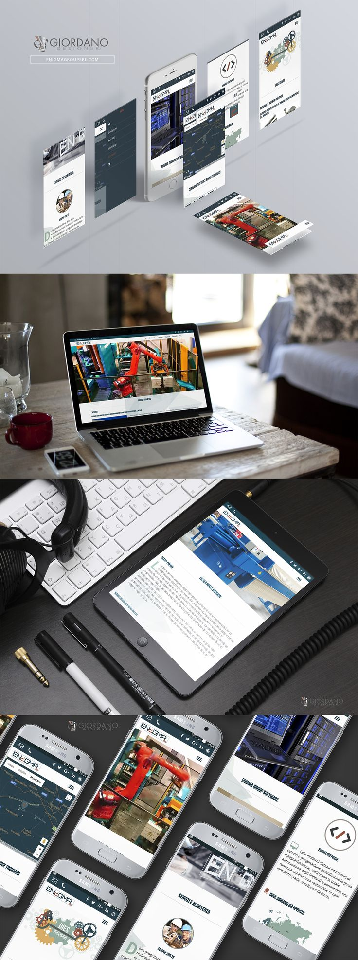 Ready new website for Enigma Group srl - Brescia IT ... Full responsive, accessible from all devices such as smartphones and tablets. Available in Italian / English / Russian.  #WebDesign #WebTypography #MobileFriendly #UserExperience #WebDeveloper #ResponsiveDesign #SiteOfTheDay #CorporateIdentity #UI #FilterPresses #IndustrialInstallations #DiesCastingMichines