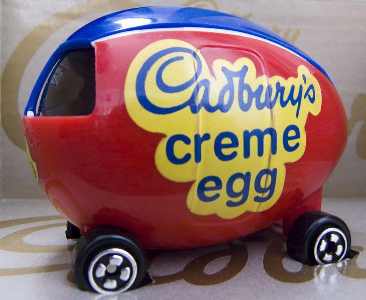 Cadbury Egg Car @ the Cadbury Factory