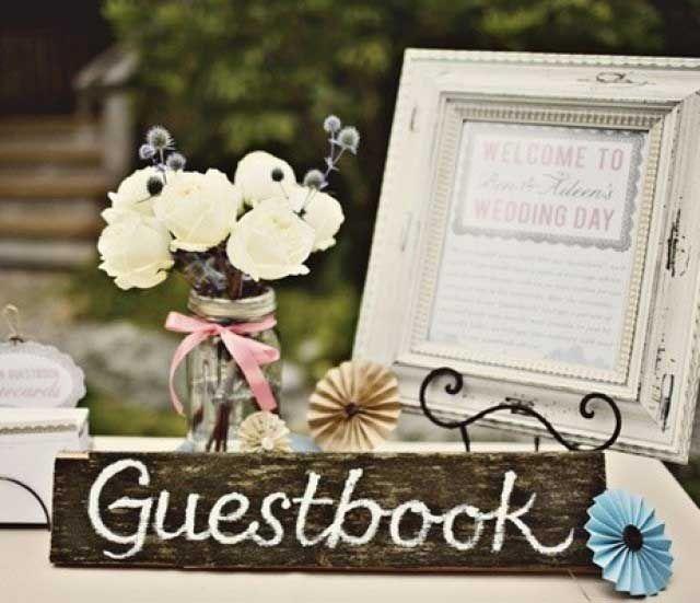 Alternatieven gastenboek bruiloft