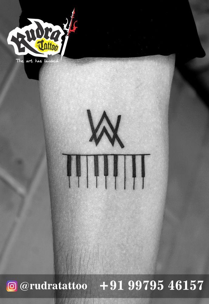 0c4fb730 Alan Walker Music Fan tattoo with Piano   ... Alan_walker-piano ...