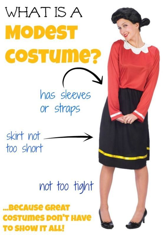 Anatomy of a modest costume. I love this list of cute, clever, and MODEST Halloween costume idea! So many great women's Halloweencostume ideas.