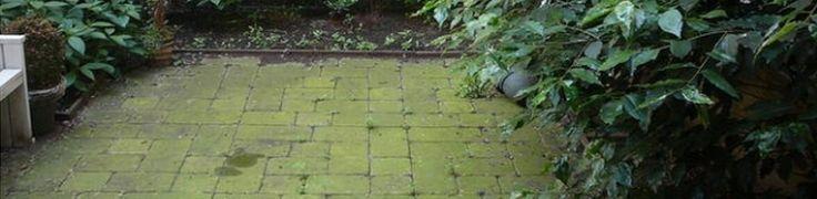 Een veel voorkomend probleem op tegels van terrassen en tuinen is groene aanslag. Hier zijn tal van dure middeltjes voor te koop, maar het kan veel goedkoper! Schoonmaakazijn is de oplossing. Vul een emmer voor de helft met water en de andere helft met schoonmaakazijn en schrob vervolgens de tegels met een bezem. Spoel de tegels daarna niet af, maar laat het goed intrekken! In de weken daarna zal je de groene aanslag langzaam zien verdwijnen.