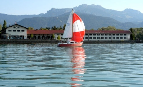 The Lake Hotel Chiemsee, worked here in 1993.