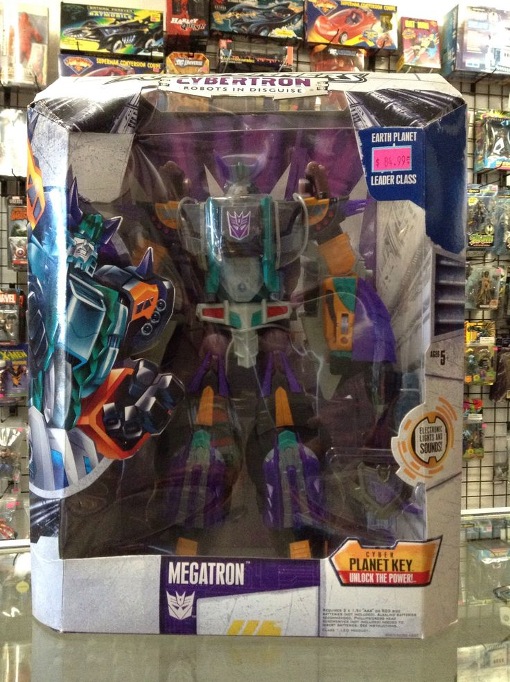 Hasbro Transformers Cybertron Robots In Disguise Megatron