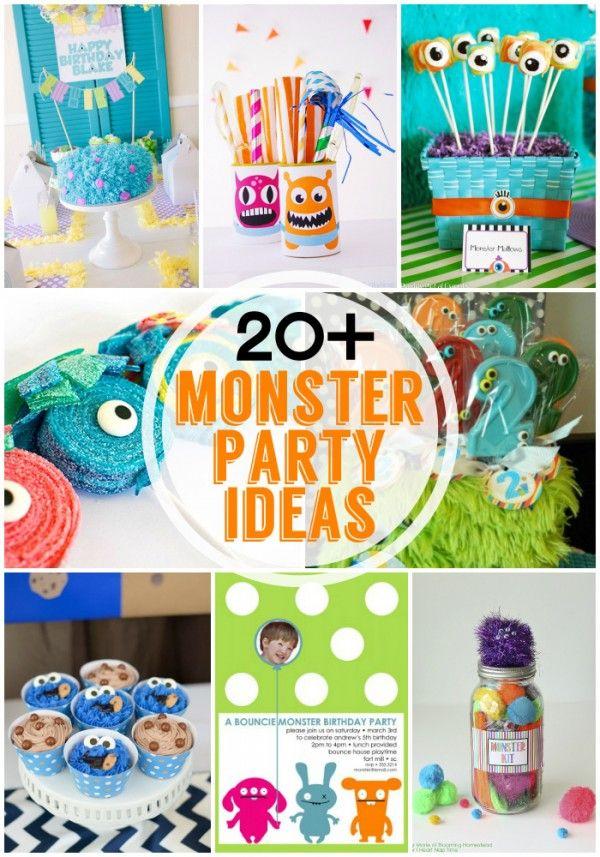 20+ Fabulous Monster Party ideas at Design Dazzle
