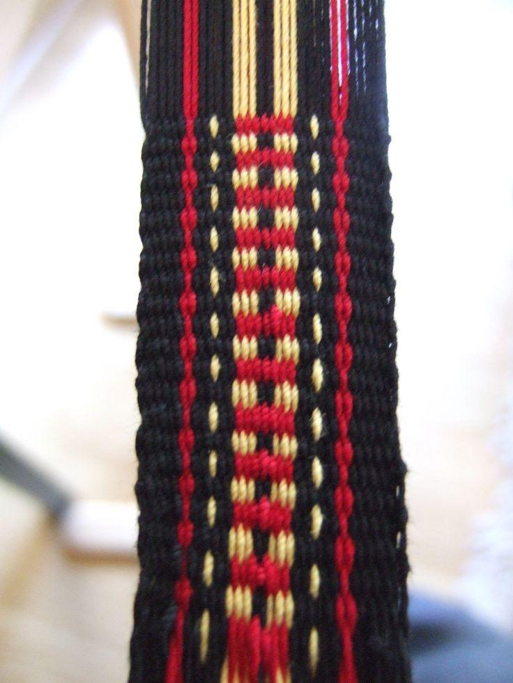 Inkle Loom Weaving