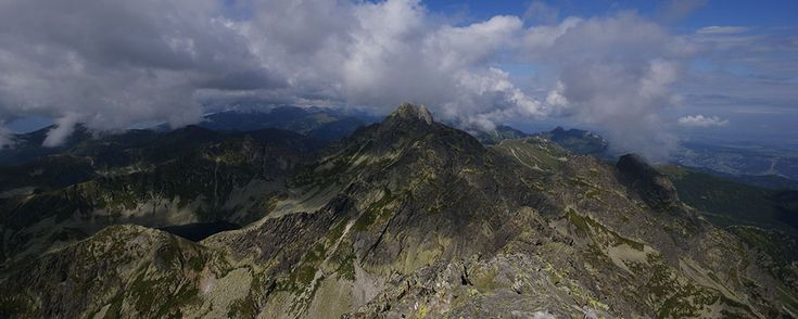 Eagle's Path - a tourist path in the Tatra Mountains. The highest point is Kozi Wierch at 2291 m amsl.