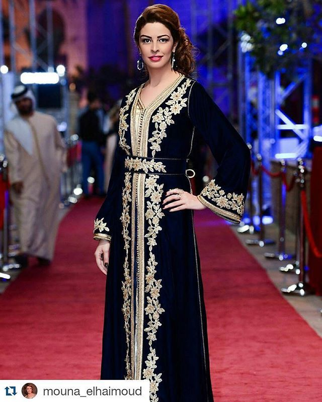 #Repost @mouna_elhaimoud with @repostapp ・・・ Thanks to the most talented photographer @ali.alkurdi.photography for the shot   Dubai International Film Festival 2015  Caftan by @amraouicouture_luxurycaftans  Hairstyle by @mounir_jouda @jacqueslacoupe  #DIFF15 #DubaiFilmFestival #MyDubai #MyHappyDubai #Dubai #DubaiFilmFestival2015 #Mouna_ElHaimoud #منى_الحيمود