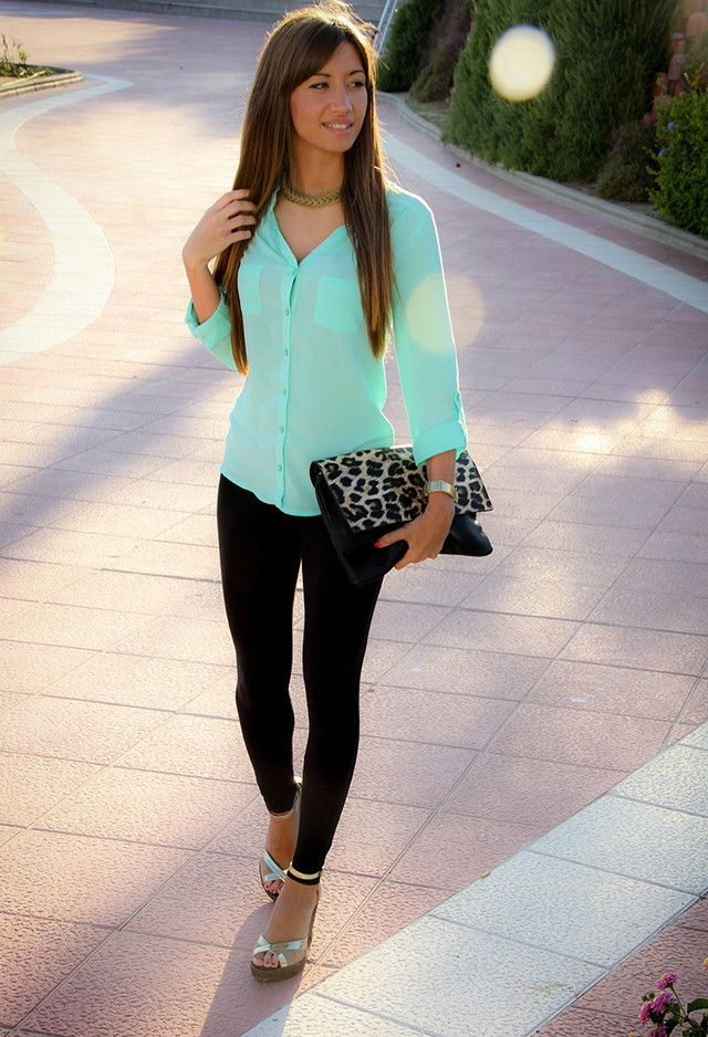 Hipster Outfit Verde Agua | Chicisimo | Ropa, Moda, Ropa Casual