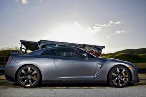 Photo Image Gallery & Touchup Paint: Nissan Gtr in Gun Metallic (KAD) YEARS: 2009-2013