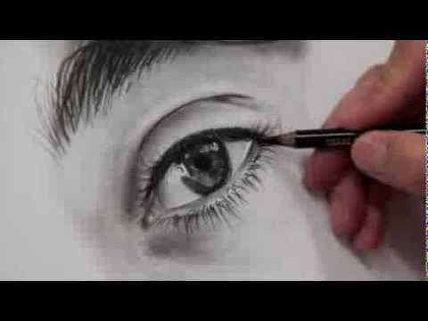 How to draw the eye wet effect- Come disegnare l'effetto bagnato dell'oc...