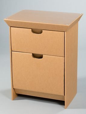 cardboard furniture design. design your own night stand cardboard furniture smartdeco solutions