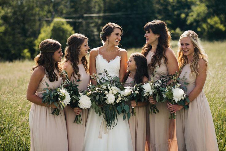 A Rustic Barn Wedding On The Blue Ridge Mountains - 007