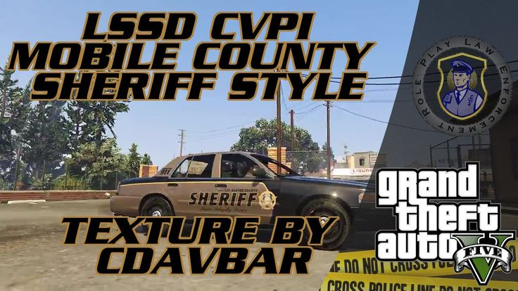 LSSD CVPI Mobile County Sheriff Style