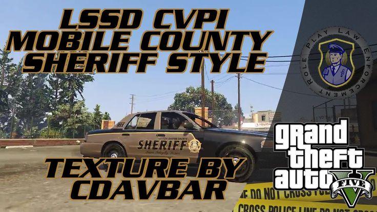 LSSD CVPI Mobile County Sheriff Style