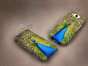Peacock Bird 3D case, full image, for iphone 4/5/5c & Galaxy S3/S4