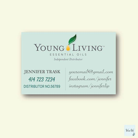 The 117 best business cards images on pinterest lipsense business young living business cards young living essential oils reheart Images