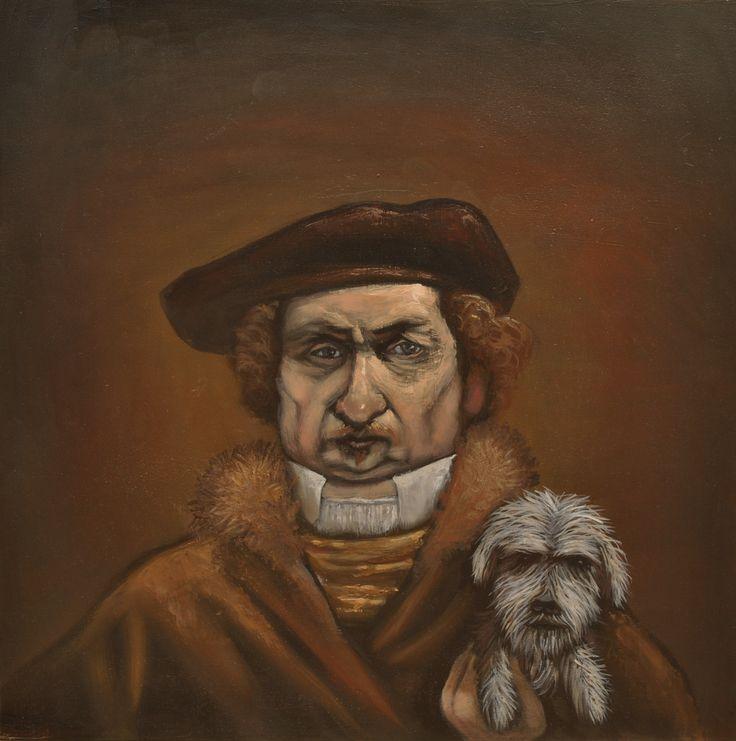 Rembrandt's Dog | Mychael Barratt