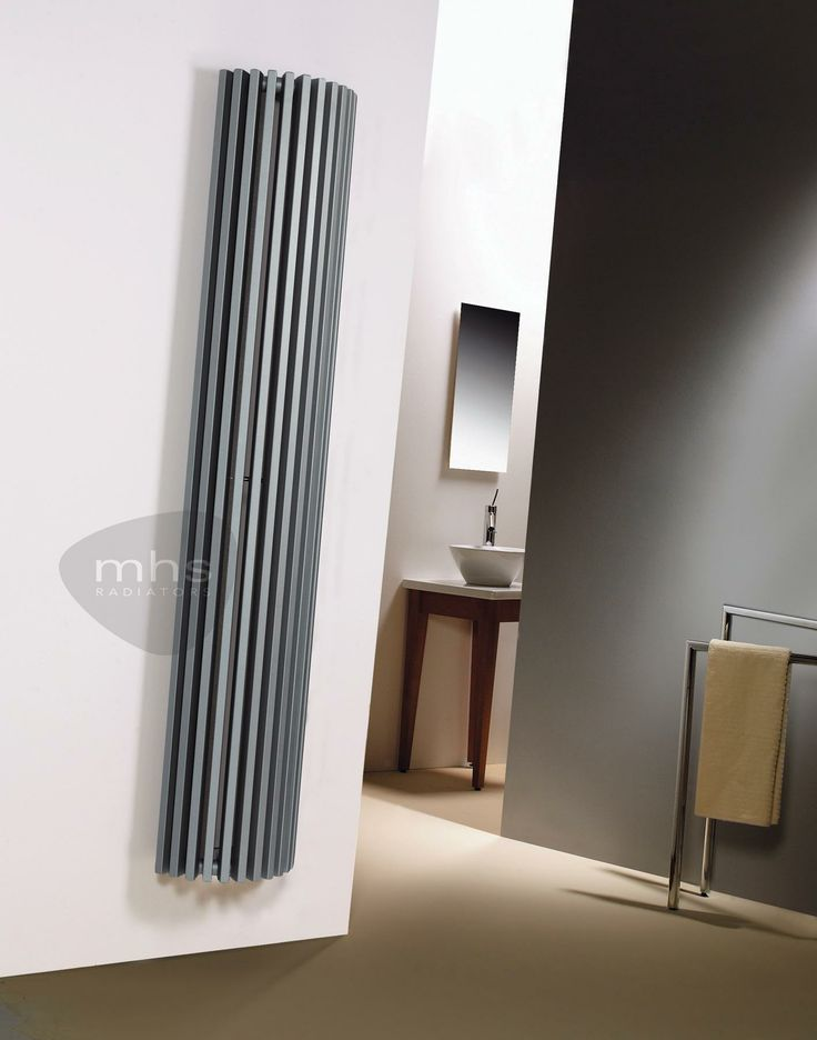 MHS Zenon Line Semi-Round Vertical Tubular Steel Radiator by MHS Cast Iron Radiators - Period Radiators, Traditional Radiators, Designer Rad...