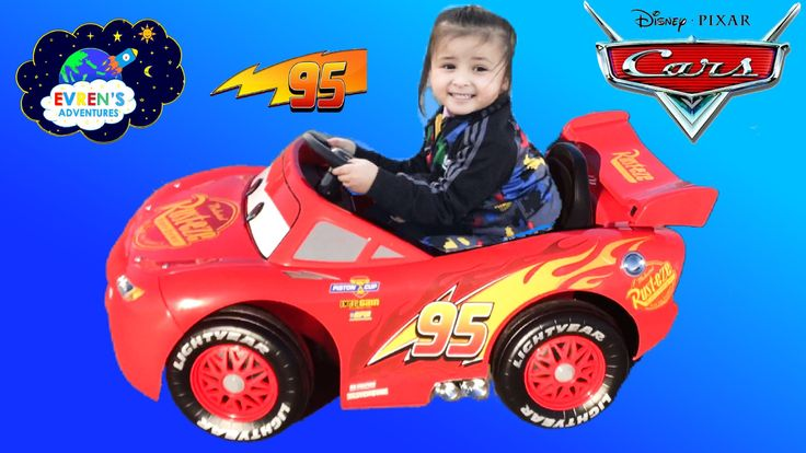 Thanks for joining Evren and Evren's daddy to unbox and assemble this Lightning McQueen Battery Powered Ride-On. We got this awesome Disney Cars Lightning Mcqueen while shopping for toy hunt at Toys R Us Store! Kids can bring the fun adventure of the new Disney Pixar Cars movie to life with this Power wheels Disney Pixar Cars Cool realistic engine sounds, forward and reverse motion up to 3.7km/h.